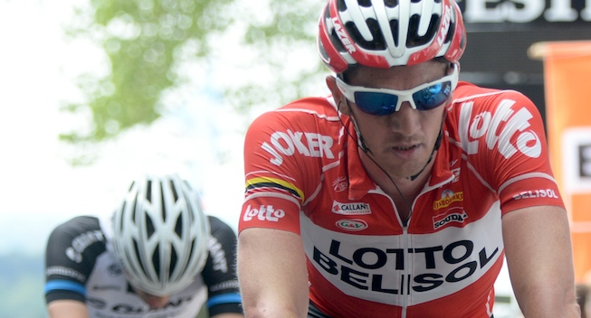 Photo: It was a season of ups and downs. Unfortunately there was only one real up: third place in the Dauphin�, Lotto-Belisol manager Marc Sergeant said.