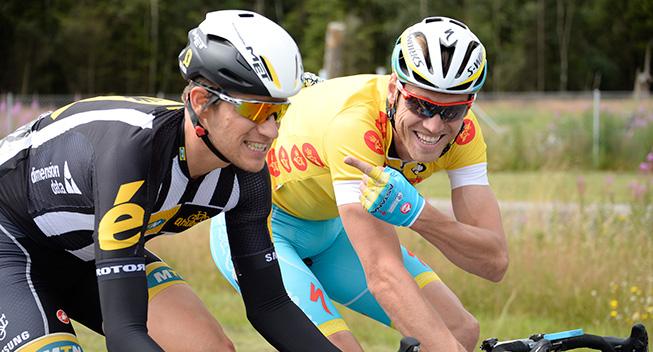 PDR 2015 2 etape Lars Boom joker med Andreas Stauff