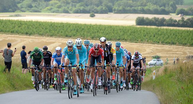 PDR 2015 2 etape peloton