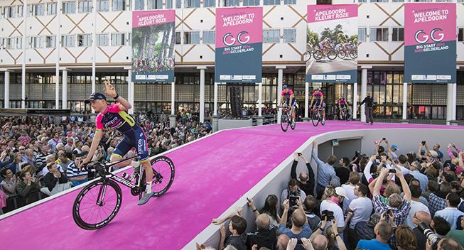 Giro2016 presentation Lampre - Merida