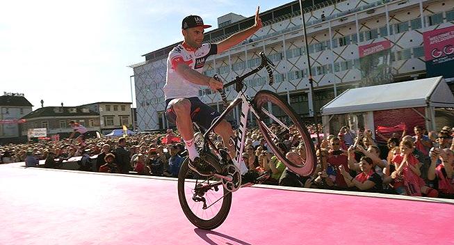 Giro2016 presentation Roger Kluge