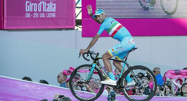 Giro2016 presentation Vincenzo Nibali
