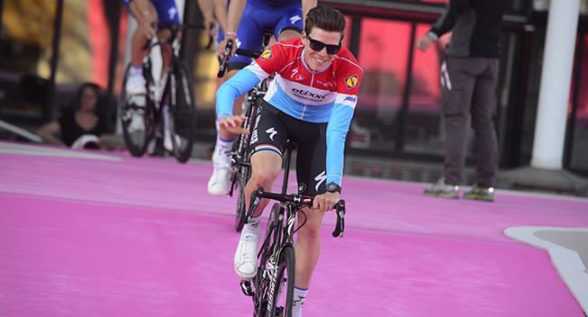 Giro 2016 holdpresentation Apeldoorn Bob Jungels