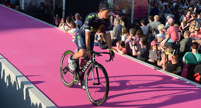 Giro 2016 holdpresentation Apeldoorn Carlos Betancur