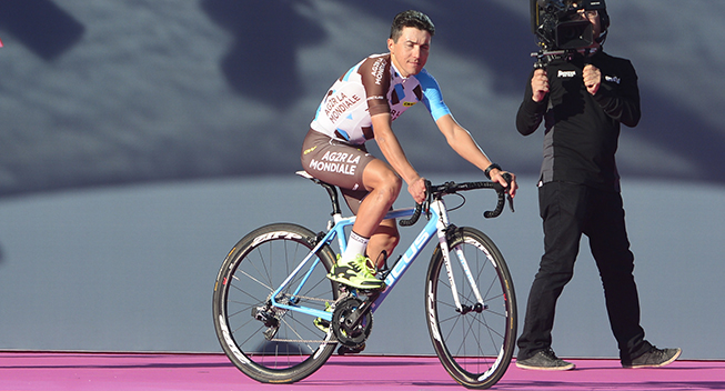 Giro 2016 holdpresentation Apeldoorn Domenico Pozzovivo