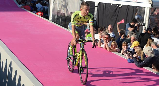 Giro 2016 holdpresentation Apeldoorn Rafal Majka