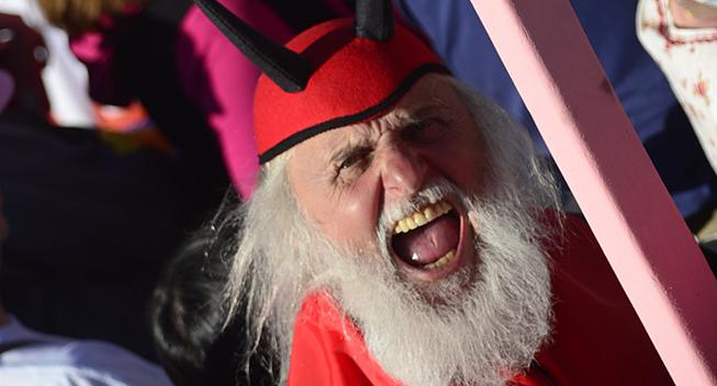 Giro 2016 holdpresentation Apeldoorn The Devil
