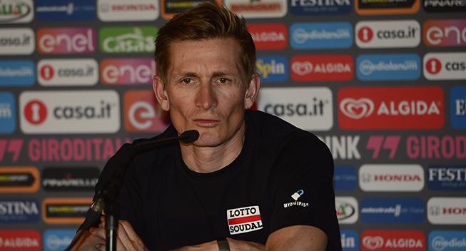 Giro 2016 pressekonference Andre Greipel