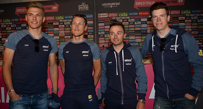 Giro 2016 pressekonference Etixx - QuickStep profiler