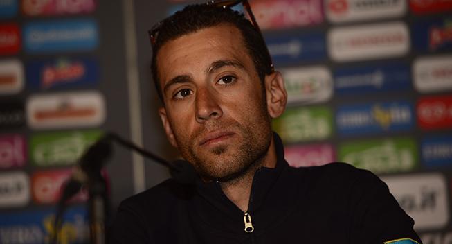 Giro 2016 pressekonference Vincenzo Nibali