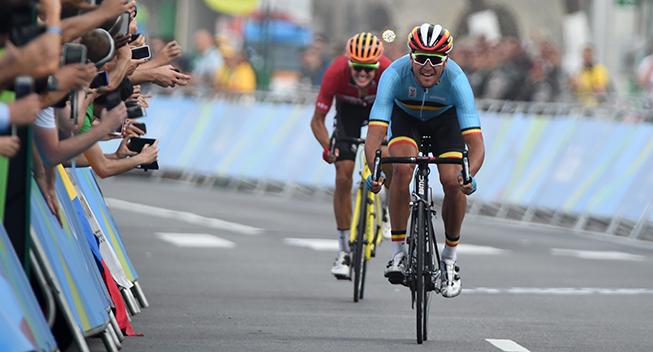 OL Rio2016 Greg Van Avermaet og Jakob Fuglsang