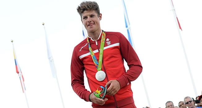 OL Rio2016 Jakob Fuglsang podiet silver