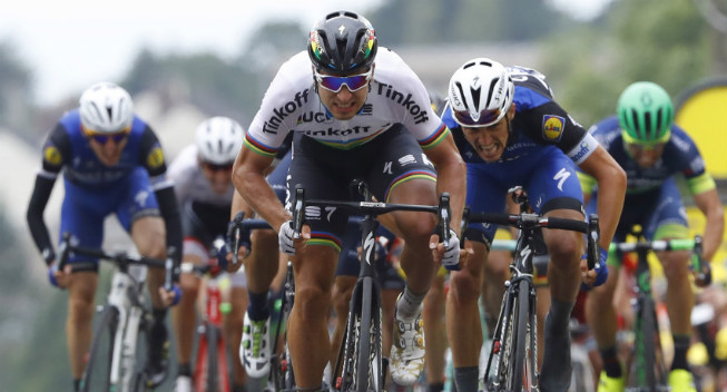 Reactions from stage 2 of the Tour de France