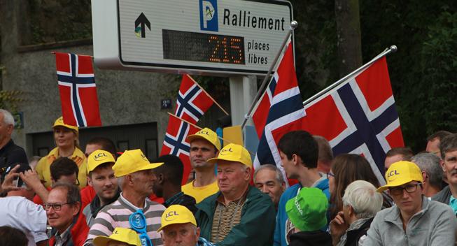 Norsk dominans på kaotisk Circuit des Ardennes-etape