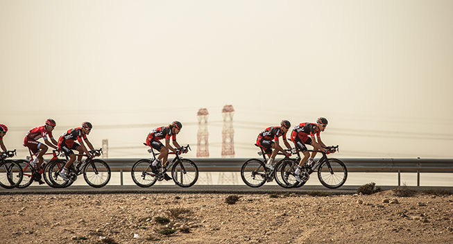Tour of Qatar 1 etape BMC Racing Team