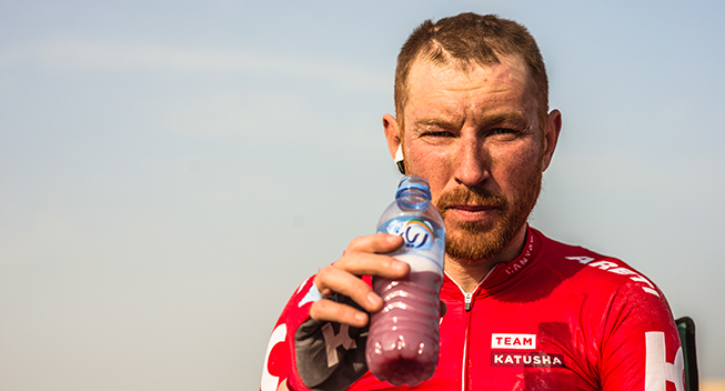 Tour of Qatar 1 etape Dmitryi Kozonchuk