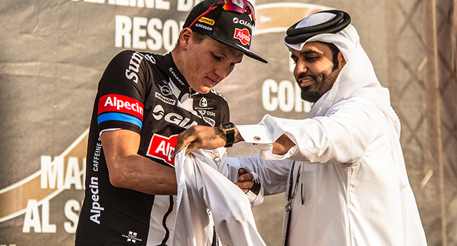 Tour of Qatar 1 etape Soren Kragh Andersen