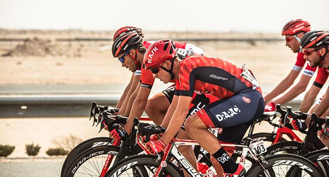 Tour of Qatar 1 etape peloton Drapac Katusha