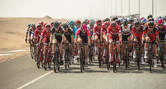 Tour of Qatar 1 etape peloton Michael Morkov