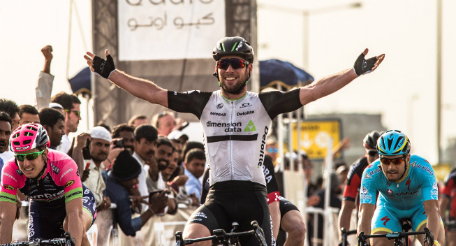 Tour of Qatar 2016 1 etape Mark Cavendish sejr