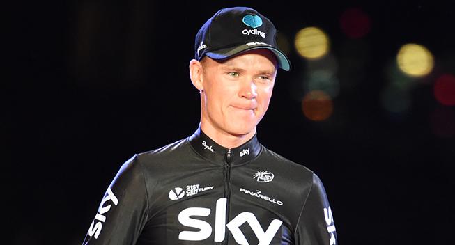 Vuelta2016 21 etape Chris Froome podiet toer