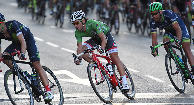 Vuelta2016 21 etape Fabio Felline green jersey