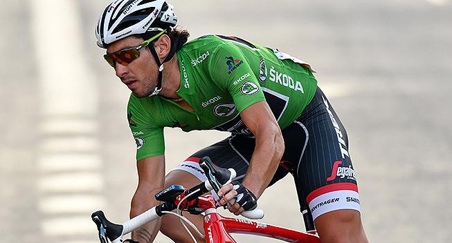 Vuelta2016 21 etape Fabio Felline green jersey 1
