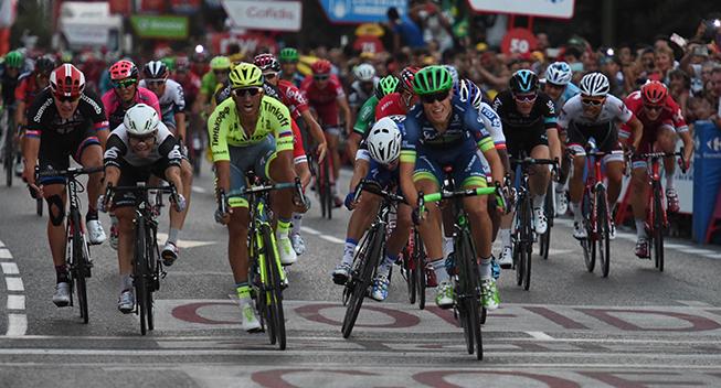 Vuelta2016 21 etape Magnus Cort Nielsen spurt