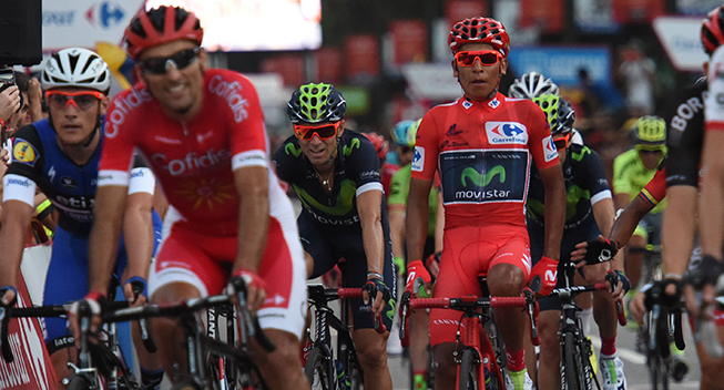Vuelta2016 21 etape Nairo Quintana finish