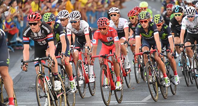 Vuelta2016 21 etape Nairo Quintana i feltet