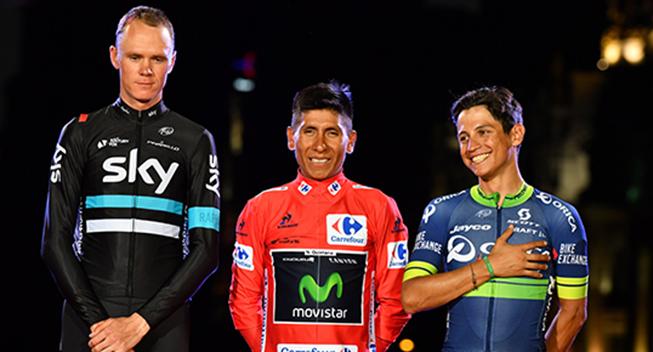 Vuelta2016 podiet