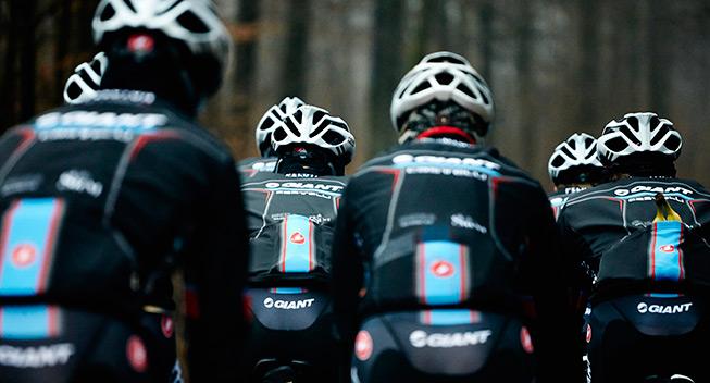 Team Giant-Castelli samlet første gang