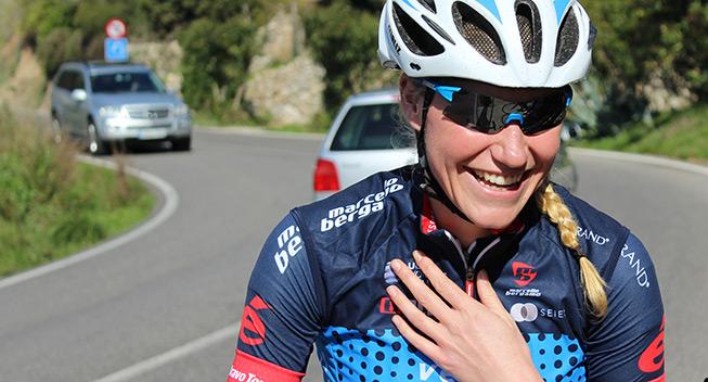 Forslået Team VéloCONCEPT Women missede udbrud
