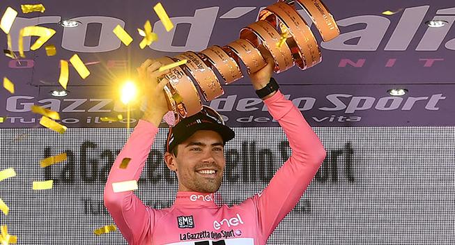 VIDEO: Dumoulin ser tilbage på sin Giro-sejr