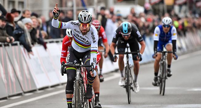 Sagan slog den forsvarende mester i Kuurne