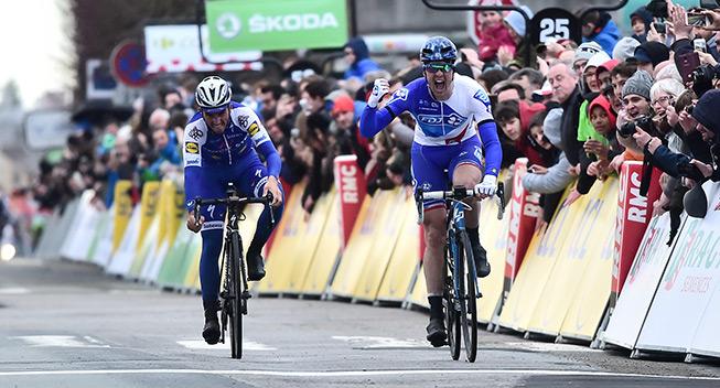 Paris-Nice 1 etape 2017 Arnaud Demare sejr