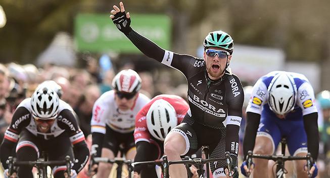 Paris-Nice 3 etape 2017 Sam Bennett sejr