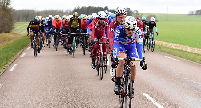 Paris-Nice 3 etape 2017 peloton FDJ Katusha