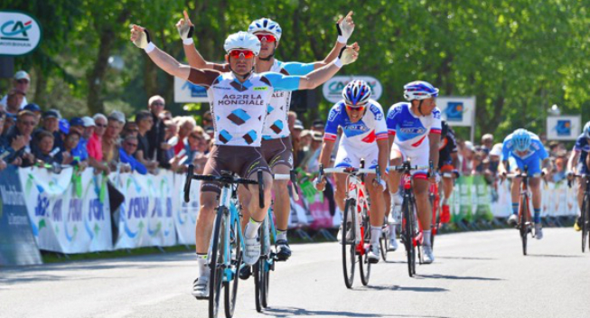 Thumbnail Credit (cyclingquotes.com): One day after his win at the GP de Plumelec, Dumoulin was the fastest in the uphill sprint