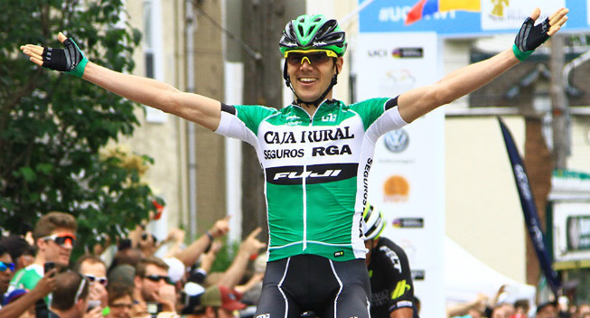 CyclingQuotes.com Prades makes it two in a row for Caja Rural in  Philadelphia 14c123d08