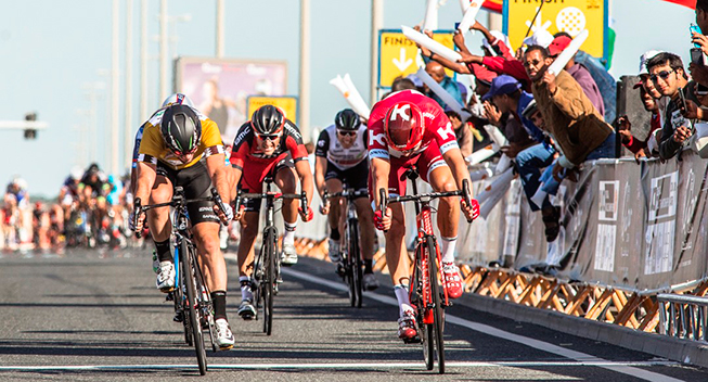 Tour of Qatar 2016 Mark Cavendish Alexander Kristoff