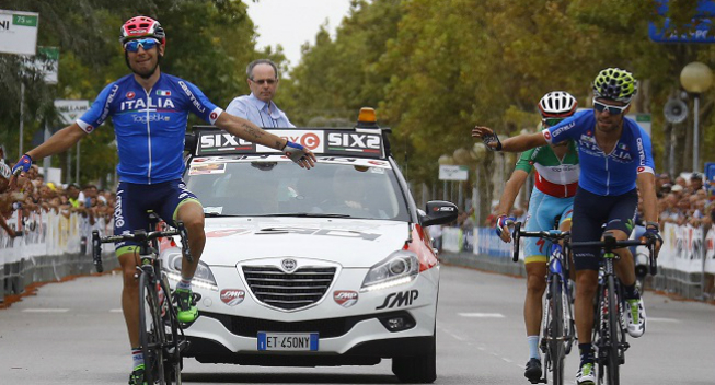 Nibali: Ulissi fortjente sejren