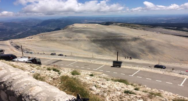 Bjergløb får stjerneopgør på Mont Ventoux