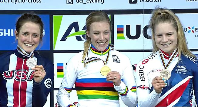 Annemarie Worst tog sejren i DVV Trofee Hamme